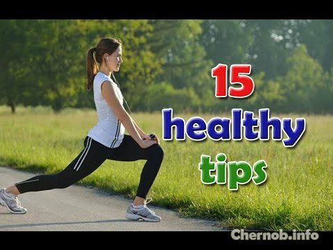 15 health tips that many ignore